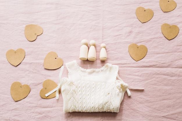 Romper i papierowe serca