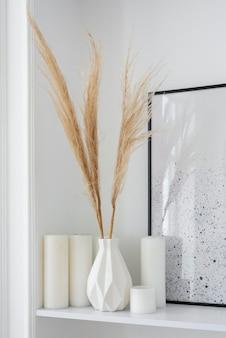 Roślina domowa w aranżacji dekoracji wazonowej