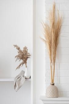 Roślina domowa w asortymencie dekoracji wazonów