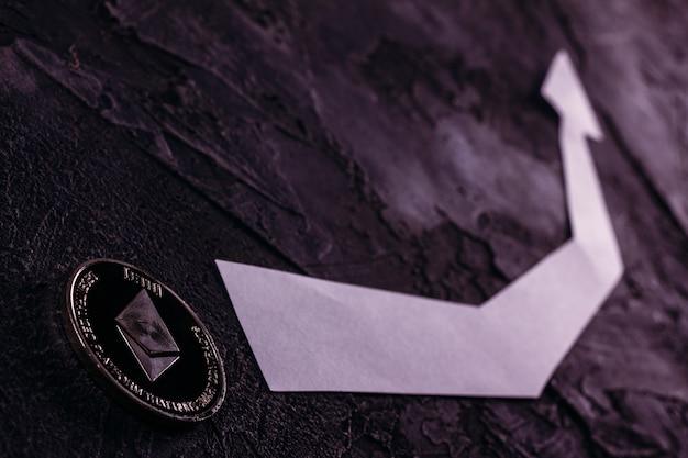 Rosną ceny kryptowaluty coin ethereum