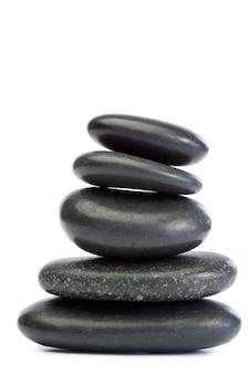 Rosnące ułożone kamienie