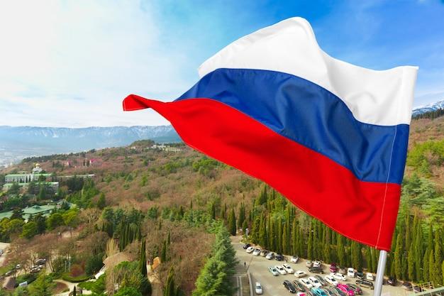 Rosyjska flaga o charakterze