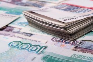 Rosyjski bogactwo rubli