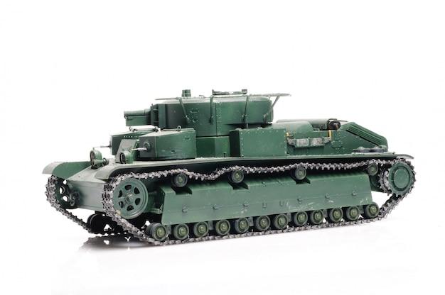 Rosyjski czołg vintage