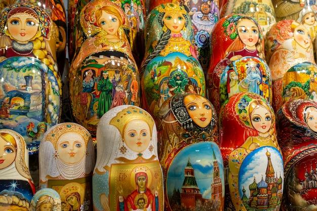Rosyjskie lalki gniazdujące