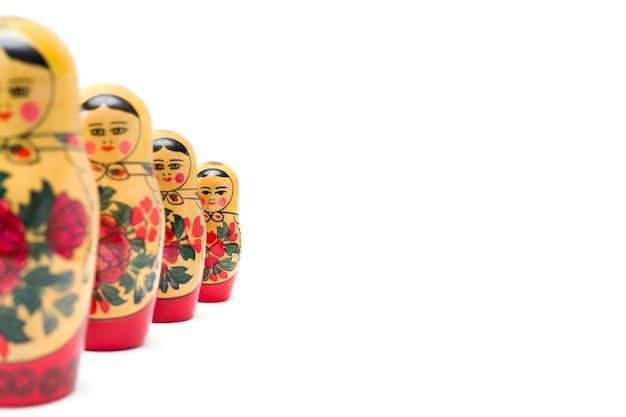 Rosyjskie lalki lęgowe, matrioszki