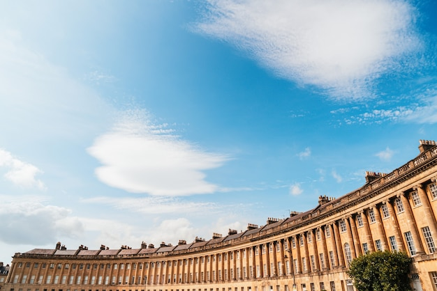 Royal crescent w bath somerset