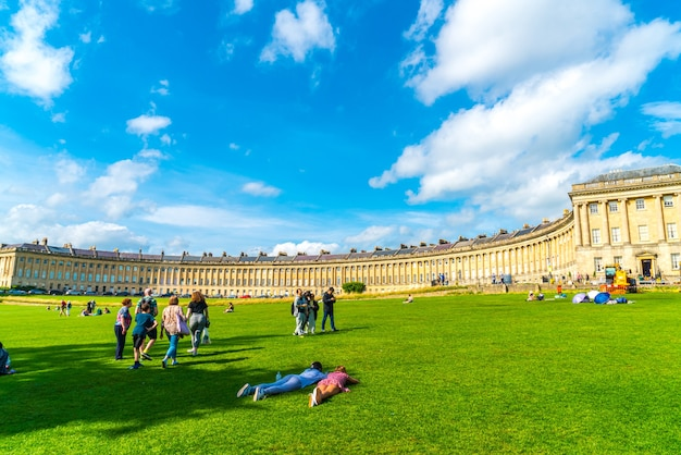 Royal crescent w bath