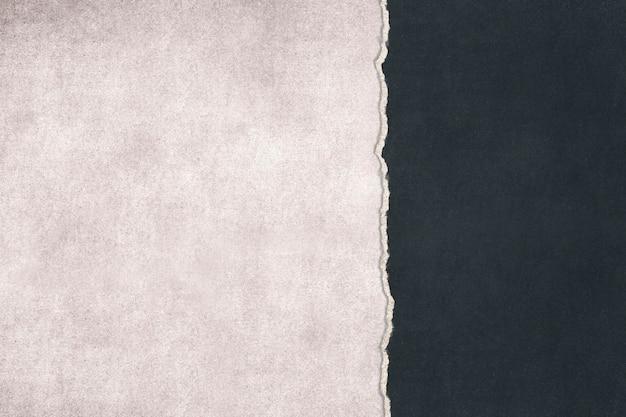 Rozdarty papier grunge z rozdartym tłem krawędzi