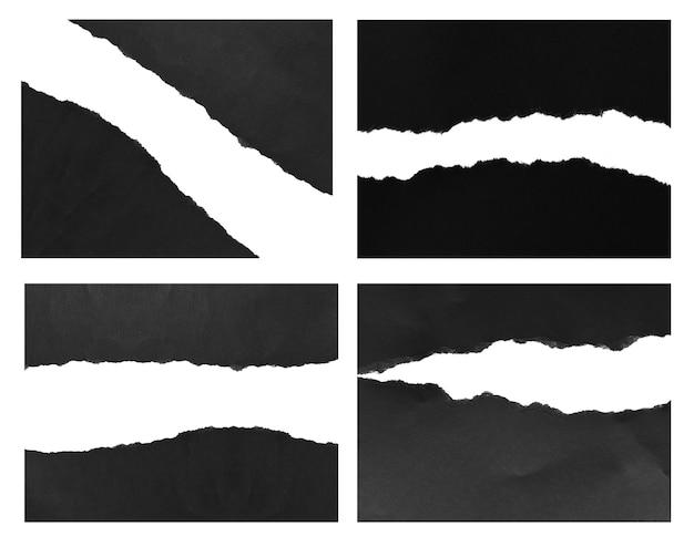 Rozdarty papier tekstura tło z kopią miejsca na tekst