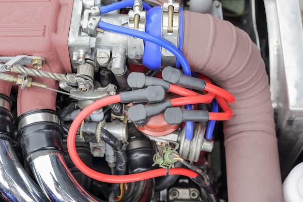 Rozdzielacz zapłonu silnika samochodowego, typowe 4 cylindry