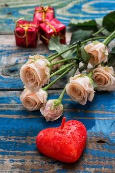 Róże są symbolem walentynek