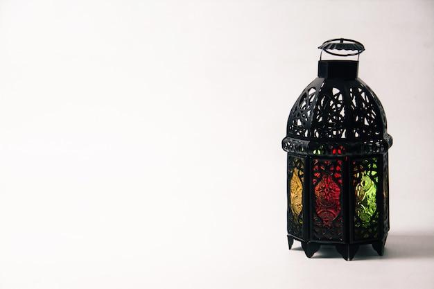 Rozjaśniony styl latarni arabskiej lub marokańskiej