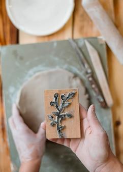 Rozmieszczenie elementów ceramiki w warsztacie