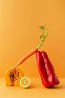 Rozmieszczenie zdrowej żywności wegetariańskiej