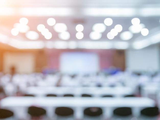 Rozmycie pokoju konferencyjnego