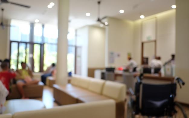 Rozmycie streszczenie luksusowy szpital lub kliniki
