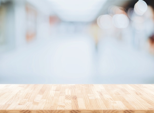 Rozmyj abstrakcyjne tło z biura, nowoczesne światło przestronny biznesowy
