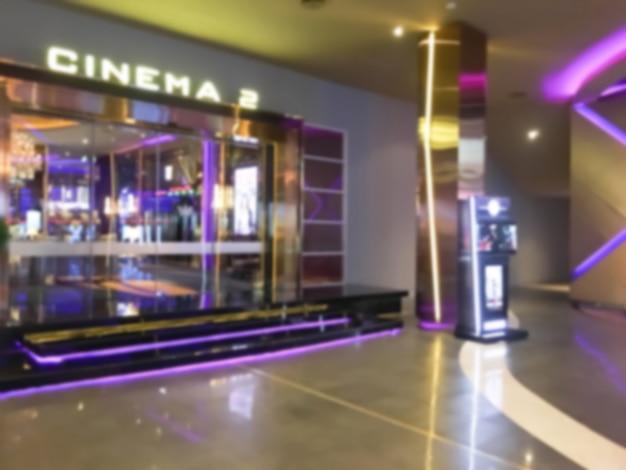 Rozmyte sal kinowych