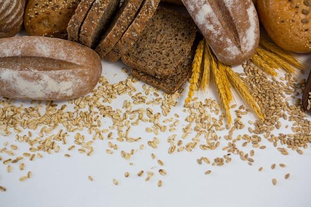 Różne bochenki chleba
