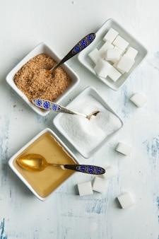 Różne cukru