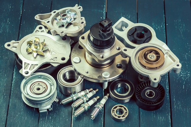 Różne części samochodowe