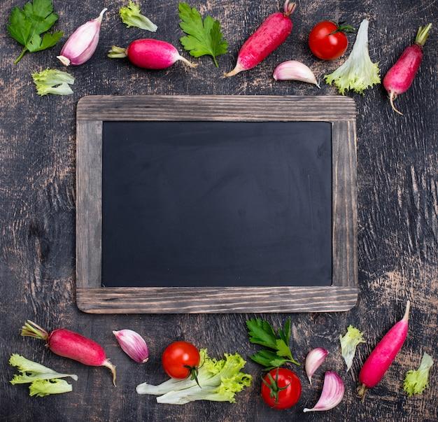 Różne farmy zdrowe organiczne warzywa