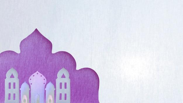 Różne orientalne papierowe wieże