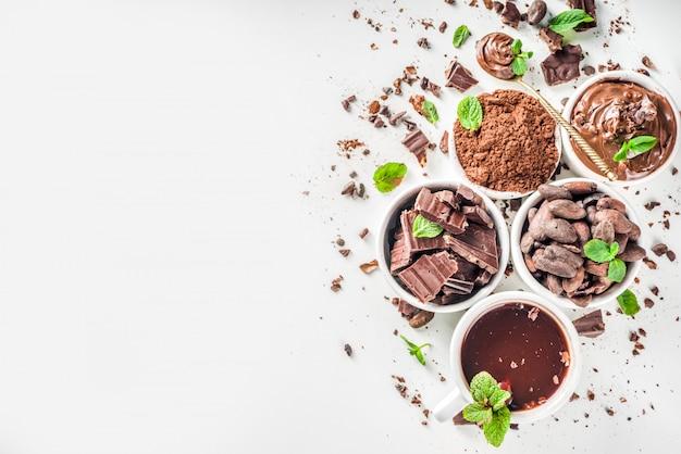 Różne rodzaje kakao