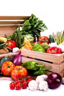 Różne rodzaje warzyw dla zbilansowanej diety
