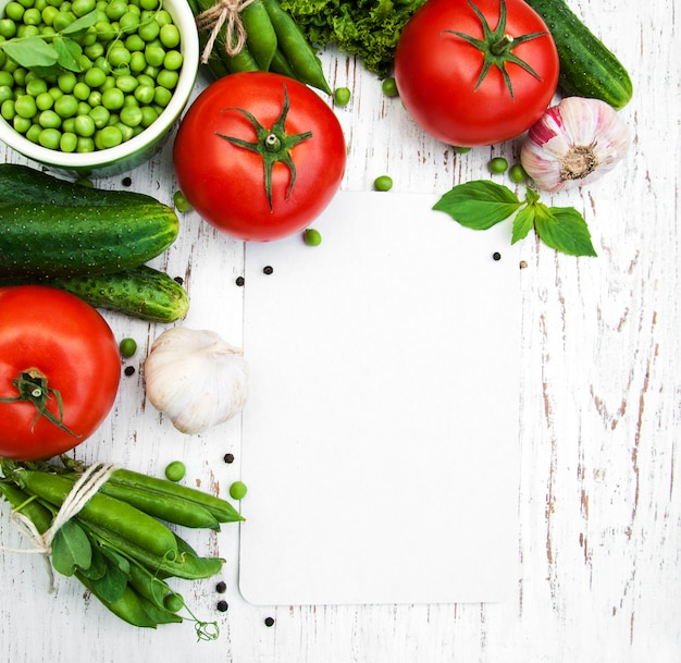Różne warzywa