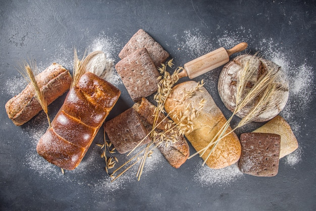 Różne zestawy do chleba