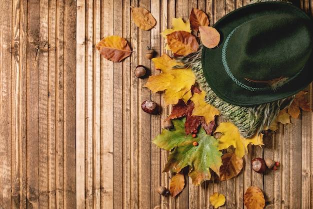 Różnorodność jesiennych liści