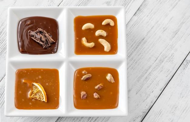 Różnorodność karmelu