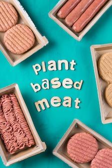 Różnorodność pokarmów mięsnych na bazie roślin w celu zmniejszenia śladu węglowego