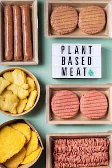 Różnorodność produktów mięsnych na bazie roślin w celu zmniejszenia śladu węglowego