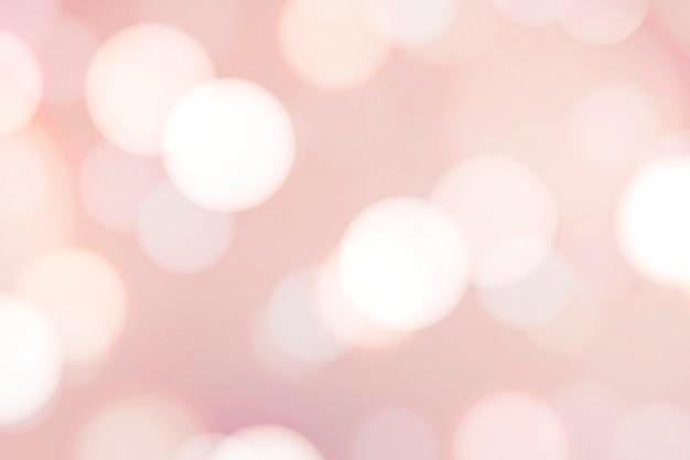 Różowa bokeh teksturowana ilustracja tła