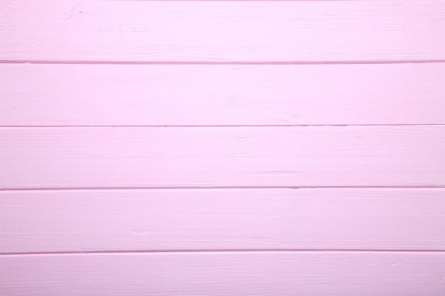 Różowa drewniana tła lub drewna tekstura, drewniana deska