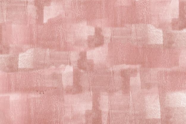 Różowa farba na płótnie