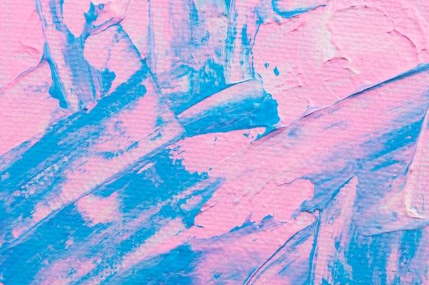 Różowa farba teksturowana tło abstrakcyjna sztuka eksperymentalna diy