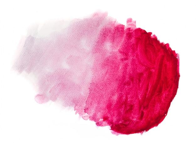 Różowa plama zdegradowane