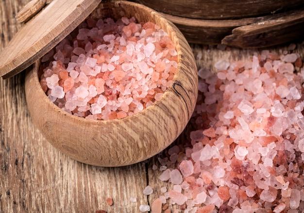 Różowa sól z himalajów