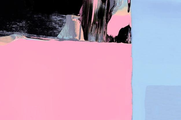 Różowa tapeta w tle, abstrakcyjna tekstura farby z mieszanymi kolorami