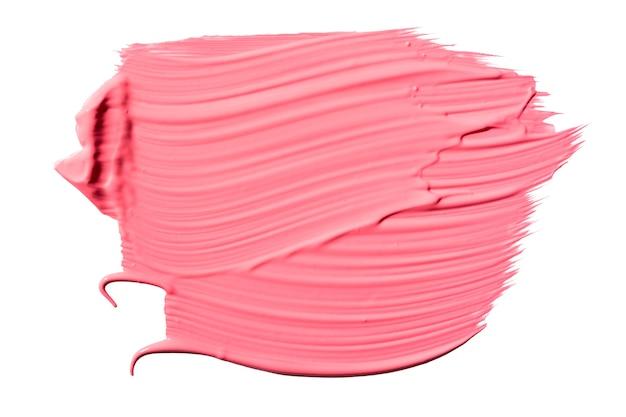Różowa tekstura obrysu pędzla