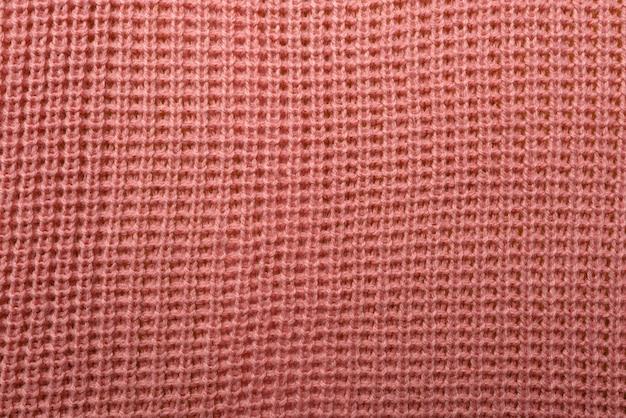 Różowa tekstura tkaniny