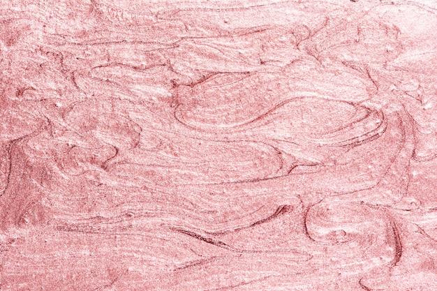 Różowe malowane teksturowane tło ściany
