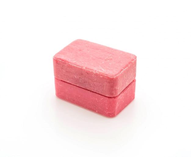 Różowe mydło