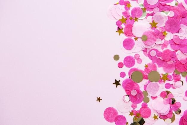 Różowe pastelowe tło uroczysty