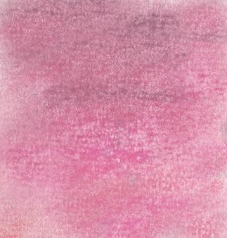 Różowe tło rysunku z miękkimi kredkami pastelowymi