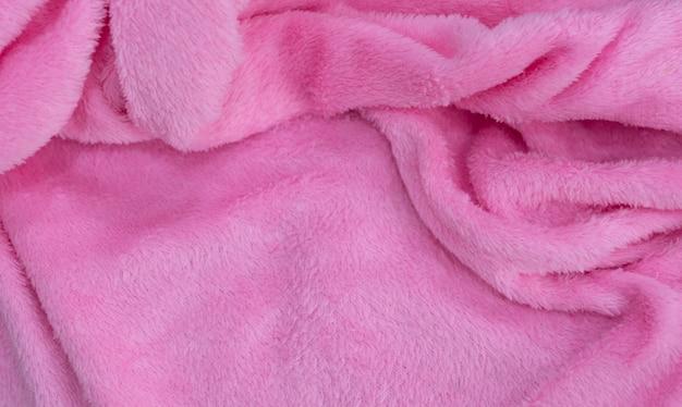 Różowe tło tekstury tkaniny, abstrakcyjne